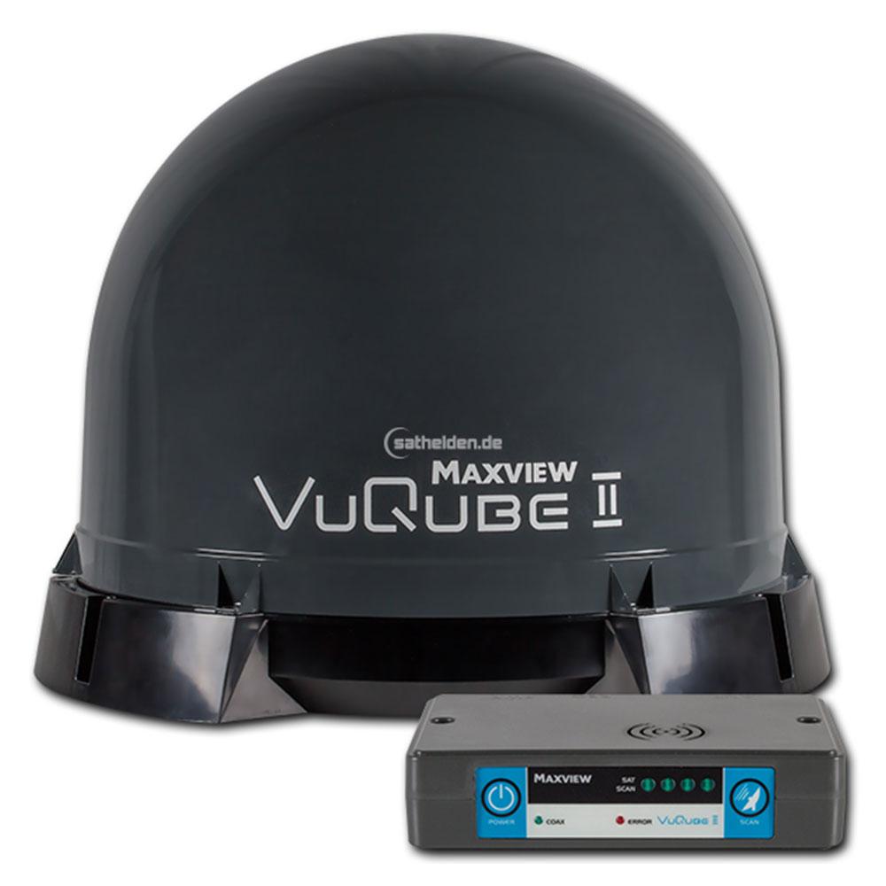 maxview sat anlage omnisat vuqube ii auto twin. Black Bedroom Furniture Sets. Home Design Ideas