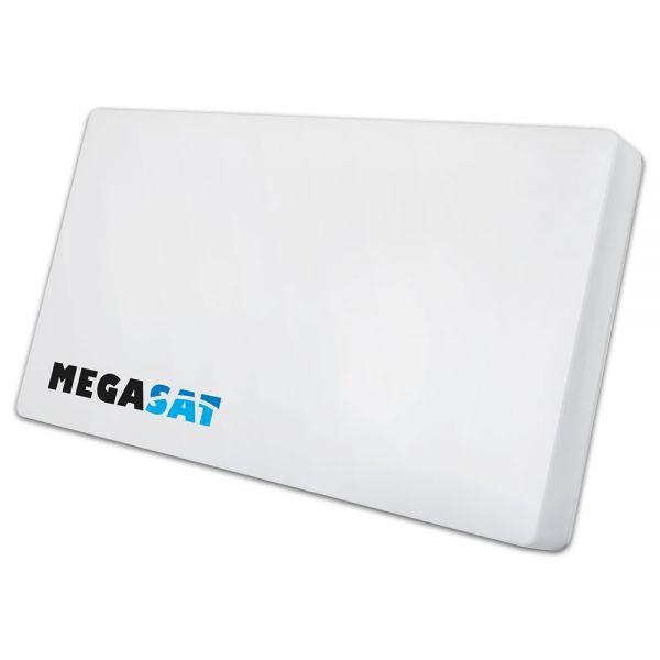 Megasat Flachantenne D4 Profi-Line Quad Sat Spiegel LNB austauschbar
