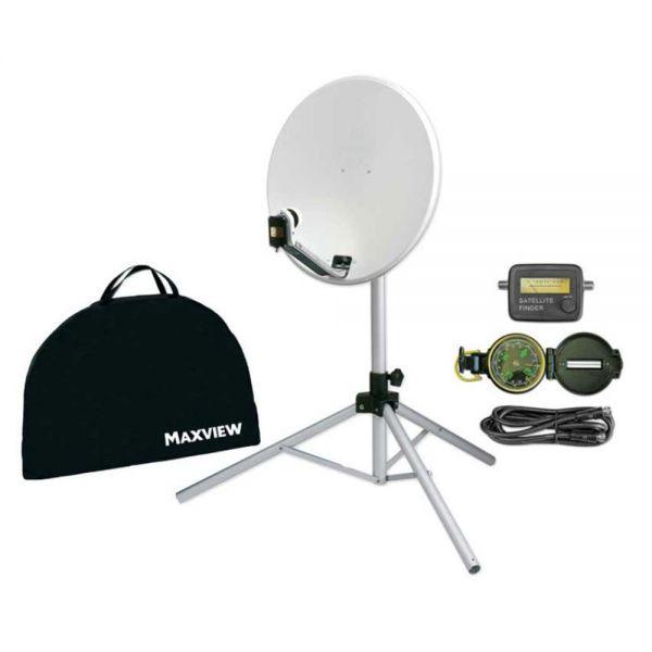 Maxview Portable Sat-Kit Light 54cm Spiegel mit Stativ Satelliten Anlage