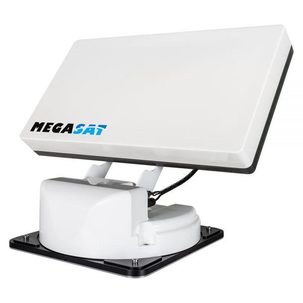 Megasat Traveller-Man 2 Vollautomatische Twin Satellitenantenne AutoSkew Sat System Camping