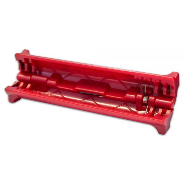 Abisolierer mini für alle gängigen Koaxialkabel F-Stecker SWC1 rot