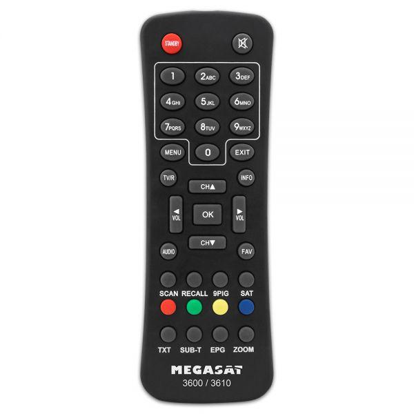 Fernbedienung FB für Megasat 3600 3610 Receiver