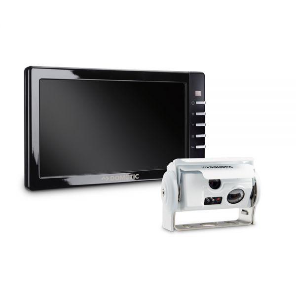 DOMETIC PerfectView RVS 794 Rückfahrsystem Monitor M 75L & CAM 44NAV Doppelkamera silber