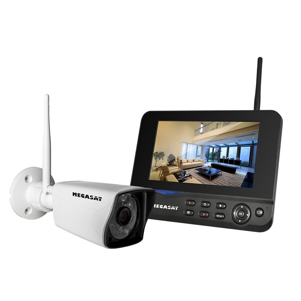 Außen Kamera 2MP Video Überwachung Megasat HSPW 25 Dome IP WLAN Innen