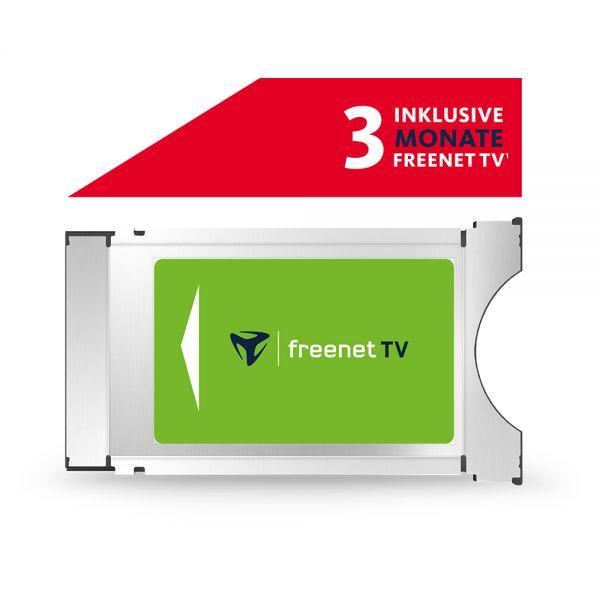 FREENET TV CI+ Modul 3 Monate DVB-T2 HD Empfang HDTV Satelliten CI Plus